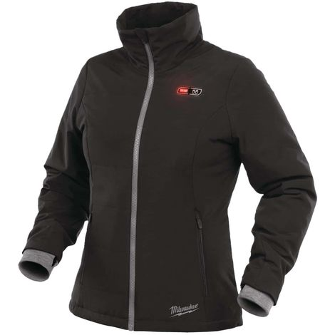 Milwaukee Women's Black Heating Jacket M12 HJLADIES2-0 Size XL 4933464842 without battery and charger