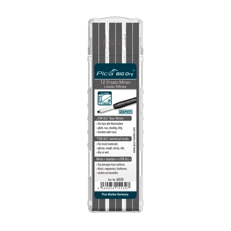 Mine de rechange Graphite FOR ALL Pica Big Dry Pica