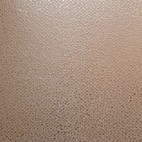 Mineral Foil Rose Gold Wallpaper Arthouse Metallic Shimmer Textured