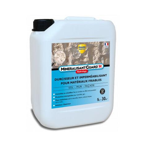 Minéralisant H - Durcisseur de surface et hydrofuge haute performance - Stop effritement -5L - traite 30m²