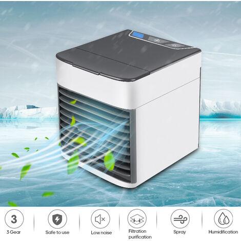 Mini acondicionador de aire del ventilador, USB portatil pequena de circulacion de refrigeracion