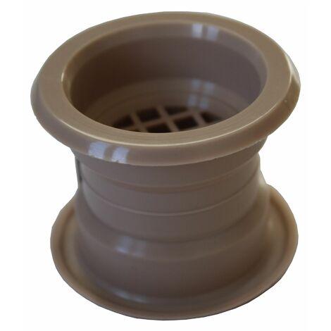 Mini air cercle collier évent grille de ventilation de porte couvercle bouleau 4pcs couleur