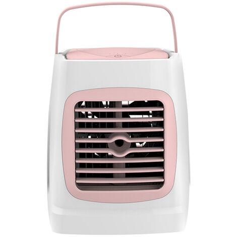 Mini aire acondicionado con funcion de humidificacion, refrigerador pequeno portatil personal con USB