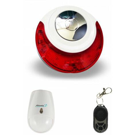 Mini alarme Atlantic'S 214 - Kit 2 - Blanc