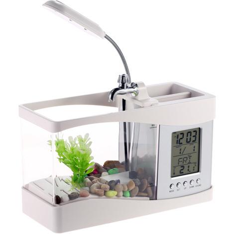 Mini Aquarium, Blanc