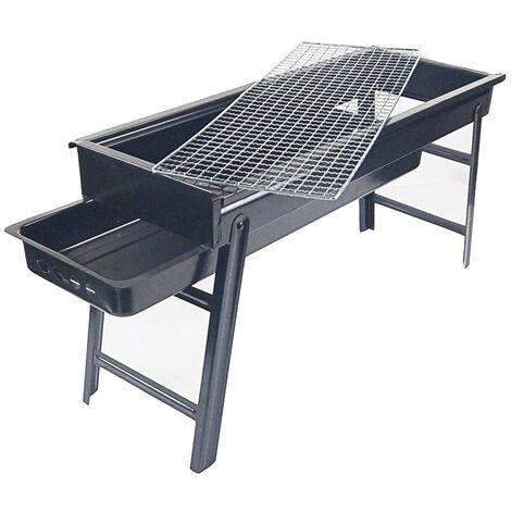 Mini barbecue en plein air gril pliable portable barbecue au charbon de bois gril en fer gril barbecue