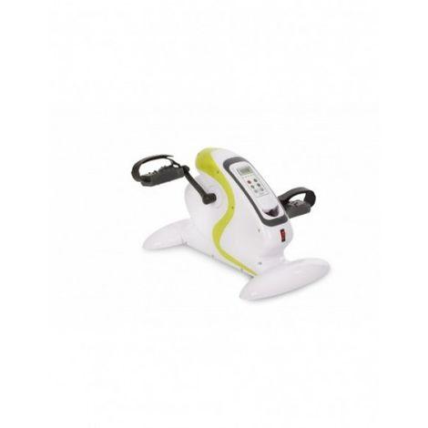Mini Bicicleta Estática de Pedales con Pantalla LCD. Pedaleador Portátil para Entrenamiento de los Músculos Sin Salir de Casa