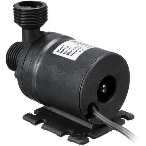 "main image of ""Mini bomba de agua sumergible 800L / H Silent Elevator DC 12V 5M Mot sin escobillas Mohoo"""