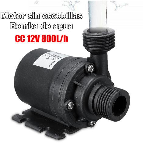 Mini bomba de agua sumergible con motor sin escobillas,DC 12V Lift 5M 800L / H