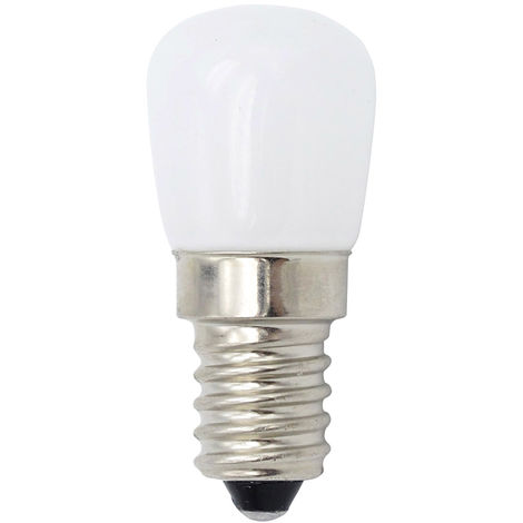 Mini bombilla LED, lampara LED de nevera SES de 1.5W, AC220V, blanco calido, E14