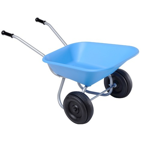 Mini brouette enfant 2 roues