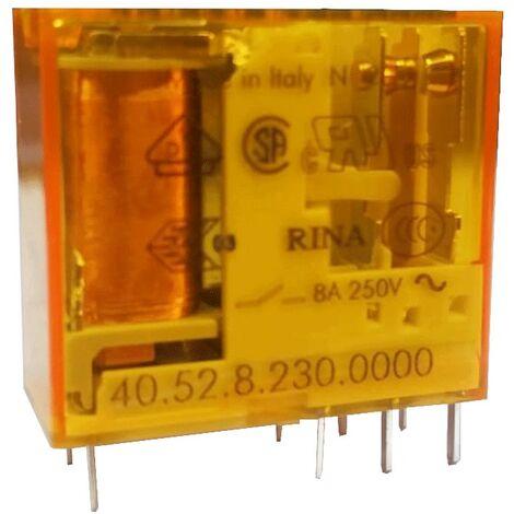 Mini Buscador de Relé 2 cambio más contactos 5A de la bobina 230V ac 405282300000