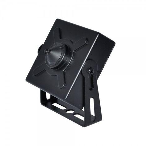 Mini cámara interior 4 en 1 todas las tecnologías óptica fija pinhole.