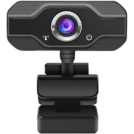 Mini camara web USB multifuncional de alta definicion, microfono integrado con reduccion de ruido