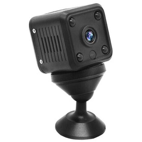 Mini caméra espion, caméra cachée sans fil WiFi, petite caméra de sécurité à domicile 1080P HD avec, vision nocturne, détection de mouvement, petite caméra de nounou rechargeable pour intérieur extérieur