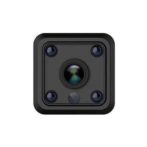 Mini Camera Espion Enregistreur, Full HD 1080P Magnetic Spy Cam sans Fil Nanny Caméra Cachée avec Détection de Mouvement et Vision Nocturne, Interieur /Exterieur Micro Camera Surveillance