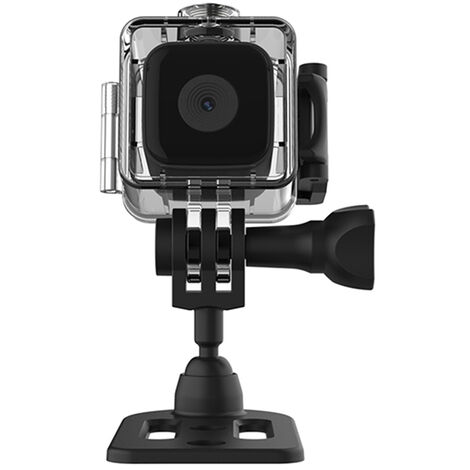 Mini Camera Portable Etanche, Petite Camera De Sport Dv Magnetique, Camera De Vision Nocturne Haute Definition 1080P