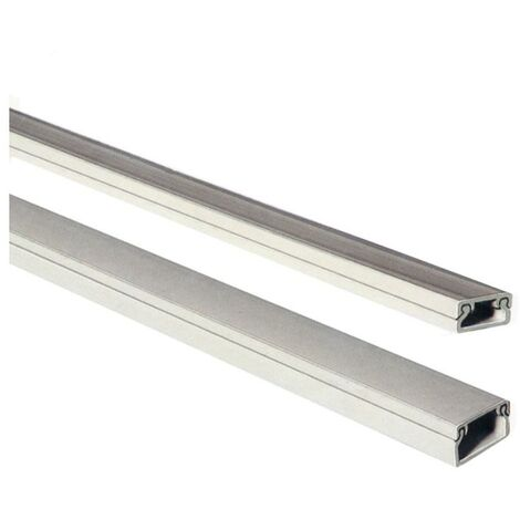 Mini canal adhesivo EDM 2mts 10/15mm (precio por barra)