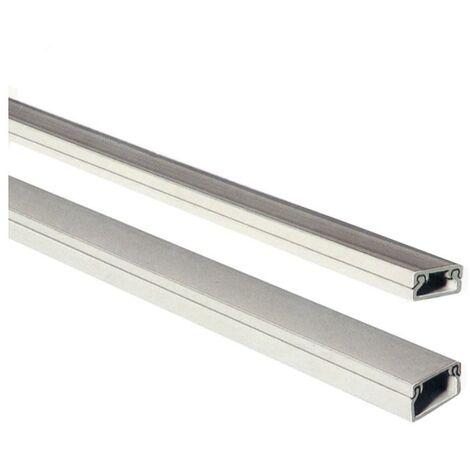 Mini canal adhesivo EDM 2mts 10/20mm (precio por barra)