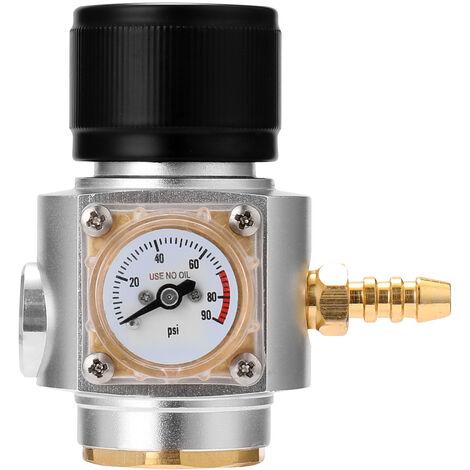 Mini cargador de gas de CO2 Sodastream, calibre 0-90 PSI, para barril de cerveza de agua con gas