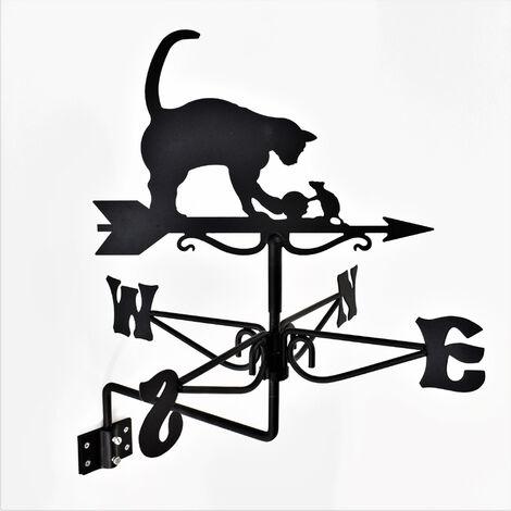 "main image of ""Mini Cat & Mouse Weathervane"""