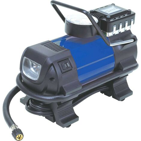 Mini compresseur 12 volts à brancher sur l'allume cigare  EQUINOXE - S11250