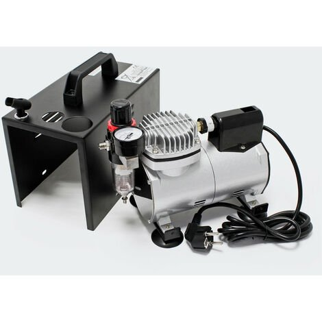 Mini compresseur aérographe compact