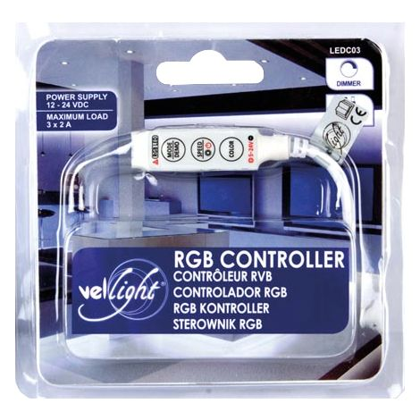 Mini contrôleur RVB pour barrettes et rubans LED