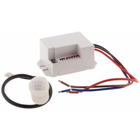 Mini détecteur de mouvement encastrable