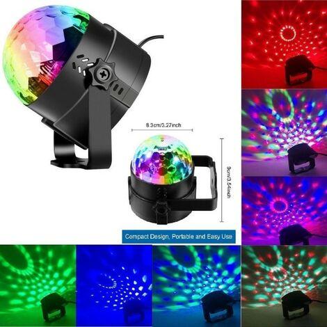 Mini Proiettore Laser Effetto Luci.Mini Dj Laser Proiettore A Sfera Rgb Led Effetto Disco Luci