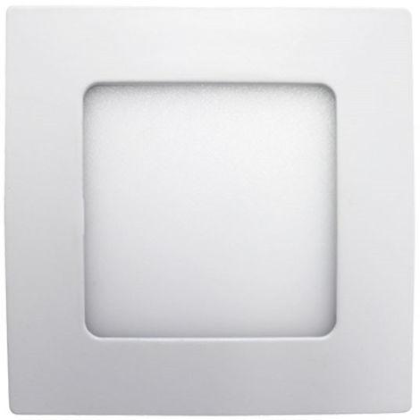 Mini Downlight LED Ultraslim Empotrable Cuadrado 8W 600lm 10,5x10,5cm