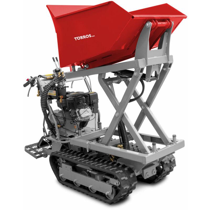 Mini dumper avec élévateur à ciseaux 500 kg MW-Tools MRS500H6