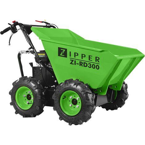 Mini dumper ZIPPER 196 cm³ 300kg de charge maxi - ZI RD300