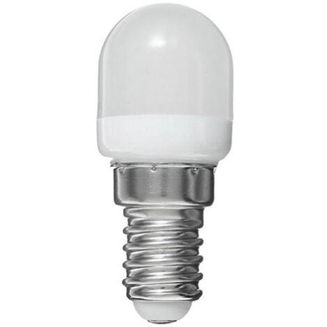 Mini E14 AC220V Blub 2W Frigorifico alto brillo de la lampara ahorro de energia, blanco calido
