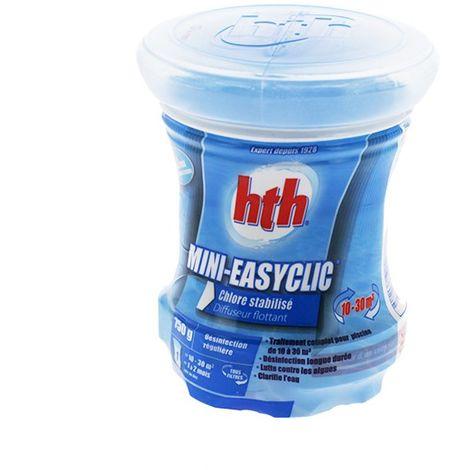 Mini Easyclic - traitement complet chlore - Diffuseur bassin 10 à 30 m3 de HTH - Produits chimiques