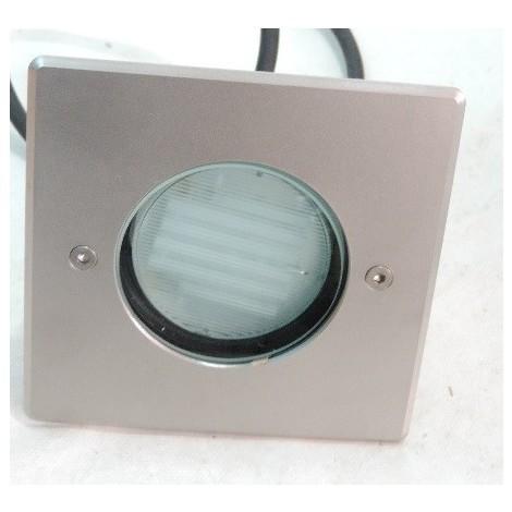 Encastré Carré 230v Mini Platek Sol De 150x150mm Lampe 8072106 Tcr 6w 1200 Gx53 Tse Ip66 Cornice Réflecteur Inox Led wknOPX80