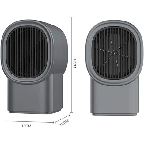 """main image of """"Mini Fan Heater, Electric Fan Heater, Portable Ceramic Electric Heater, Quiet Quick Heating Desktop Heater for Office, Baby Room Indoor Use"""""""