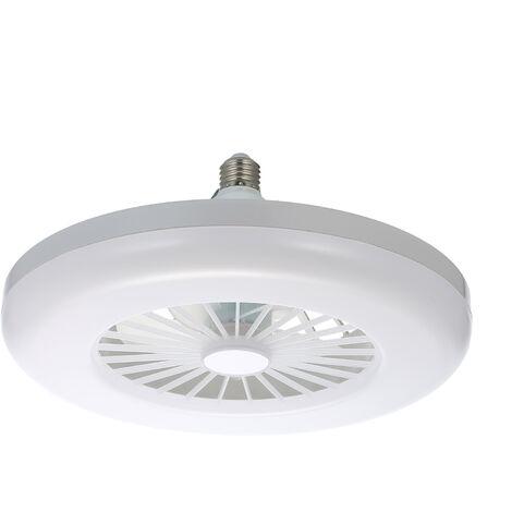 """main image of """"Mini Fan Light E26/E27 Desk LED Makeup Ring Light Selfie Ring Light For Live Broadcast Table Lamp Lighting White Light,model:White"""""""
