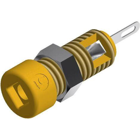 Mini fiche femelle MBI 1 Ø de la broche: 2 mm SKS Hirschmann CO MBI 1 935980169 jaune 1 pc(s) D24087