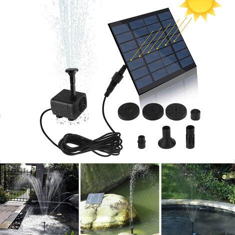 Mini Fontaine Solaire Pompe Solaire Pompe A Eau Electrique Kit Panneau Panneau Solaire Pompe A Eau Pour Jardin Piscine