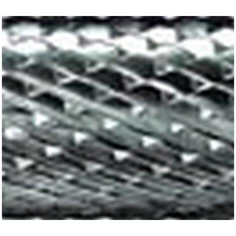 Mini-fresa en varilla de 3 mm, de carburo, forma esférico cilíndrico WRC (extremo ronda), dentado 4, forma : WRC 0313, Ø de la cabeza 3 mm