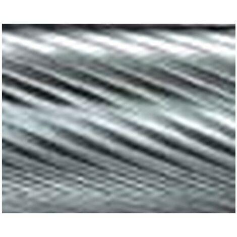 Mini-fresa en varilla de 3 mm, de carburo, forma esférico KUD, dentado 5, forma : KUD 0403, Ø de la cabeza 4 mm, Largo de cabeza 3 mm, Largo total : 34 mm