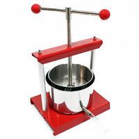 Mini-Fruit press stainless steel 1,5 L Fruit press Cider press Fruit mill Fruit