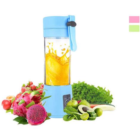 """main image of """"Mini frullatore portatile da viaggio succo di frutta coppa mixer frullati 380ml"""""""