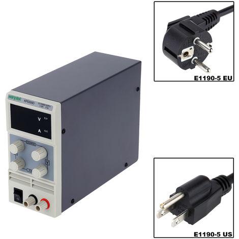 Mini fuente de alimentacion de CC, variable ajustable AC 110V / 220V 50 / 60Hz