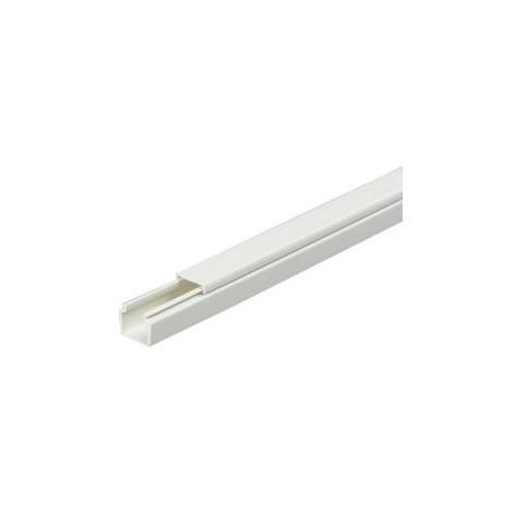 Mini-goulotte cable 15x15mm, gris