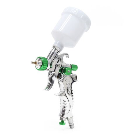 Mini HVLP Spray Gun 602A V2A-nozzle