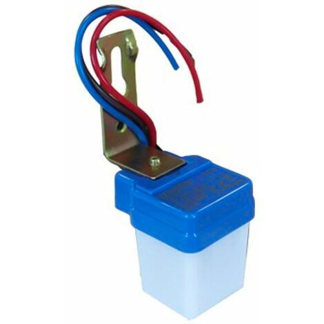 Mini interruttore sensore crepuscolare lampada lampadine controllo luminosita 04