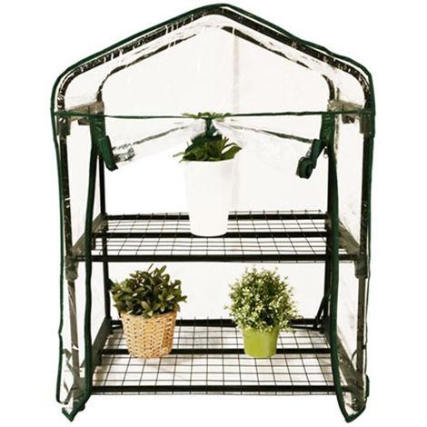 Mini Invernadero del Jardin Botanico 2 estantes 69x49x95cm