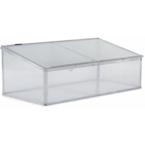 Mini invernadero en policarbonato 108 x 56 x 40 cm